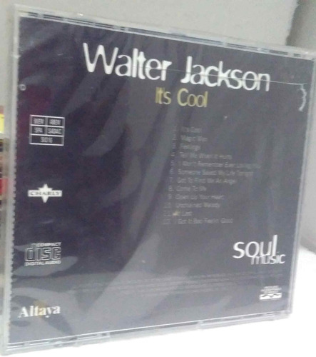 cd walter jackson its cool