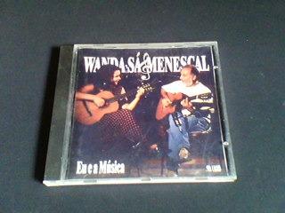 cd wanda sá & menescal - eu e a musica