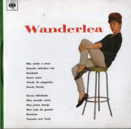 cd wanderléa - wanderléa (1963) - novo***