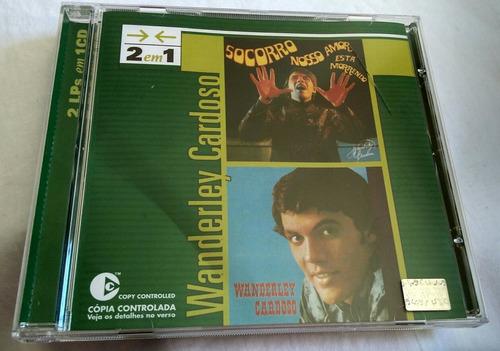 cd wanderley cardoso (2 lps em 1 cd)