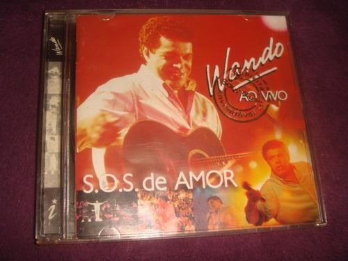 cd wando / s.o.s amor ao vivo