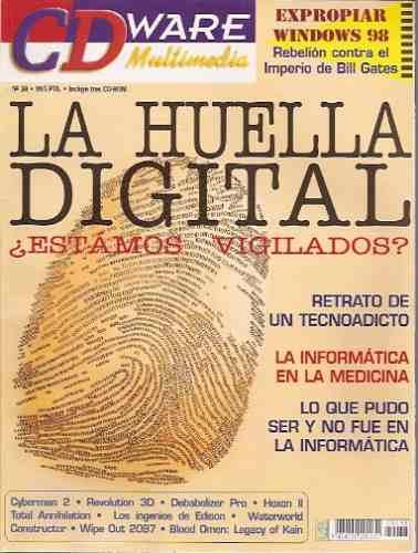 cd ware multimedia 38 la huella digital tecnoadicto medicina