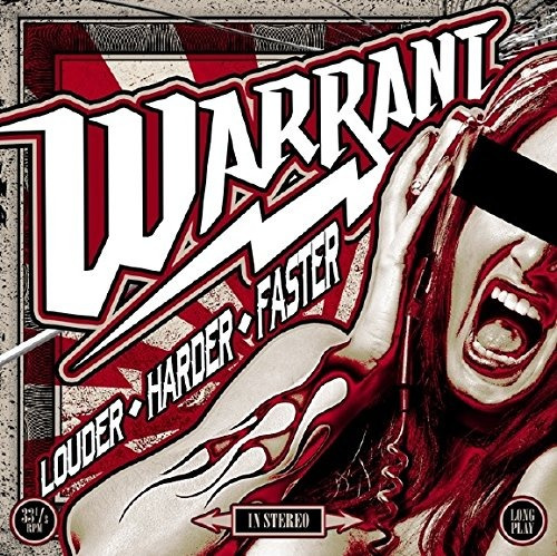 cd : warrant - louder harder faster (cd)