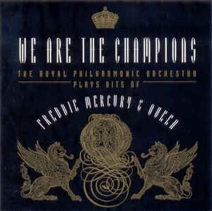 cd we are the champions freddie mercury & queen