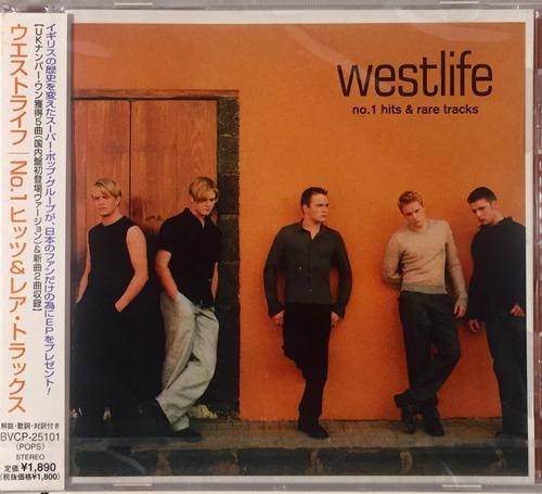 cd westlife - hits & rare tracks - importado japan lacrado