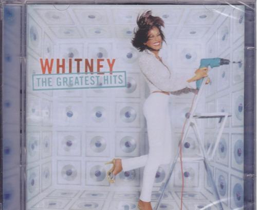 cd whitney houston - the greatest hits (duplo) os sucessos!!