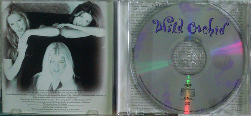 cd wild orchid - 1996 - cd importado  ( fergie )