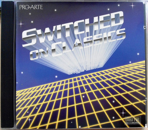 cd william goldstein - switched on classics - impecável
