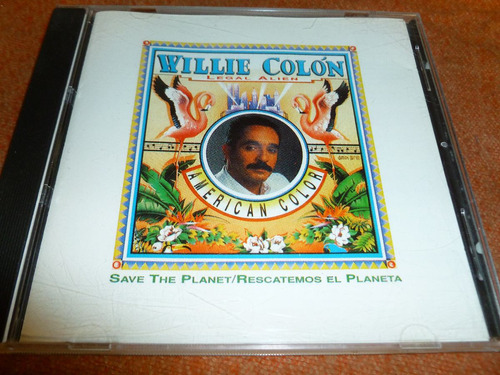 cd willie colon legal alien american color envío gratis
