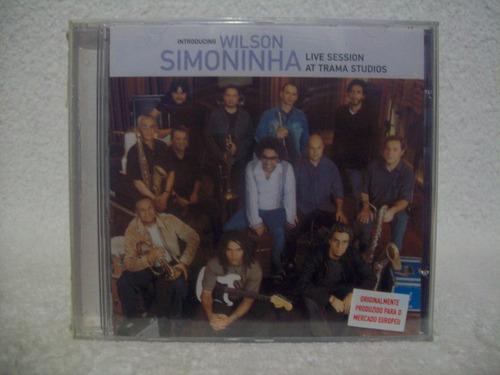 cd wilson simoninha- live session at trama studios- lacrado