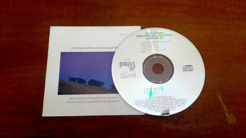 cd windham hill records sampler '81 (1981) usa electron r2