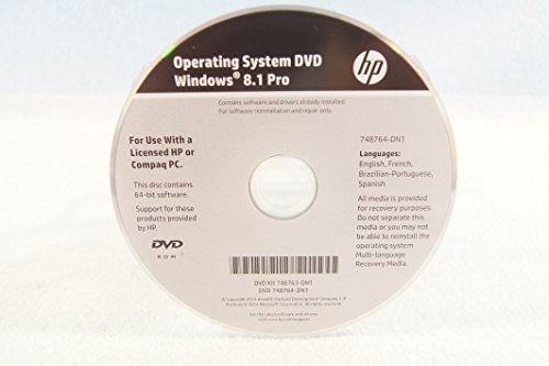 Cd Windows 8 Pro Recovery Media 32/64 Bit - Hp Desktop 402g1