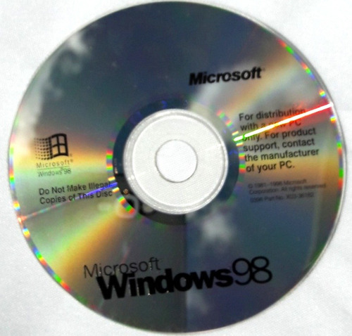 cd windows originales para colección