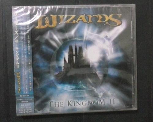cd wizards - the kingdom ii (japonês) (raro)