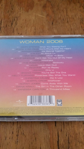cd woman 2006 gwen stefani kylie minogue tatu mariah carey
