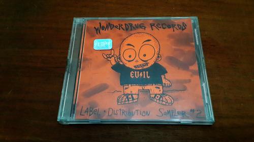 cd wonderdrug records - sampler #2 - hard core heavy punk