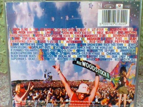 cd  woodstock 99     (2 cds)     (frete grátis)