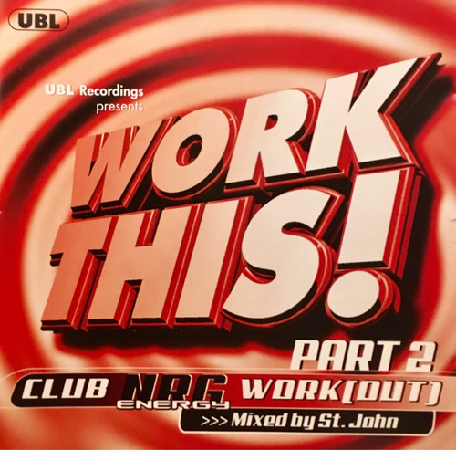 cd work this part 2 workout mixed by st john