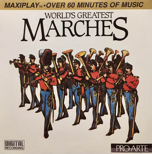 cd worlds greatest marches univ of michigan marchas