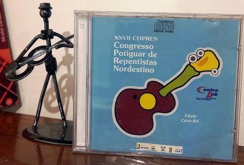 cd - xxvii congresso potiguar de repentistas ne (caicó-rn)
