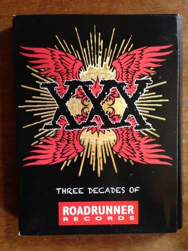 cd xxx three decades of 4 cds roadrunner records prd lacrado