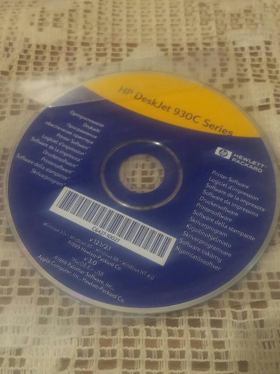 cd y manual de instalacion para hp deskjet 930c. Cargando zoom.