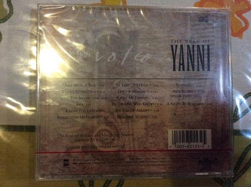 cd yanni devotion the best of
