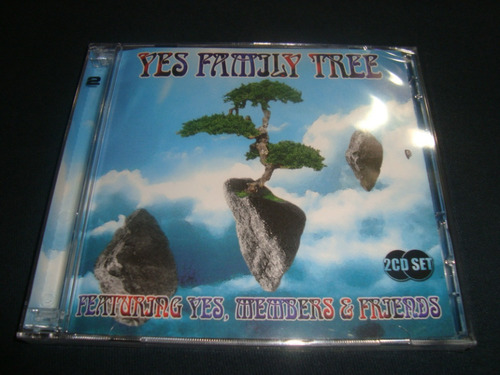cd yes - family tree (duplo lacrado) yes , members & friends