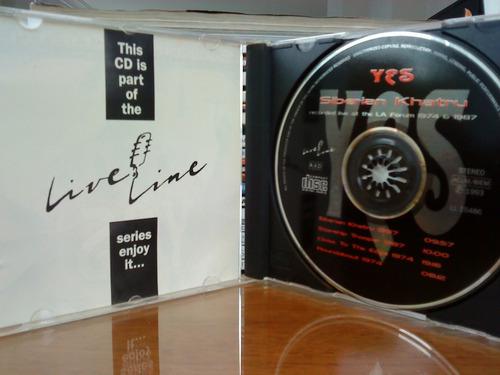 Cd Yes Live Siberian Khatru Forum 1974 1987