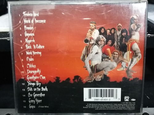 cd - yothu yindi - freedom