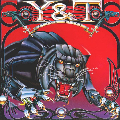 cd y&t - black tyger