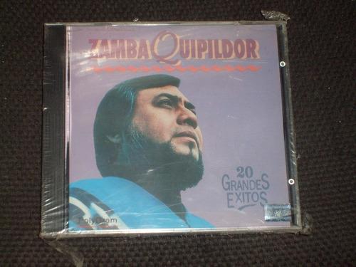 cd zamba quipildor 20 grandes exitos tonada del viejo amor