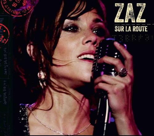 cd - zaz - sur la route cd+dvd