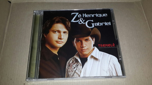 cd ze henrique e gabriel - tremele