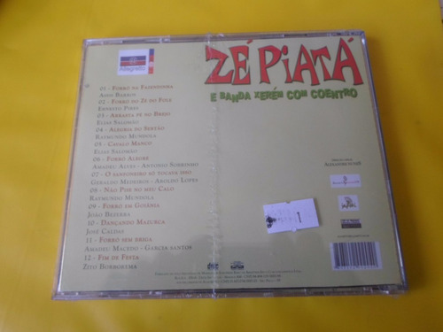 cd zé piatá / forró na fazendinha / novo