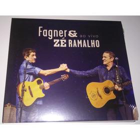 Cd Zé Ramalho & Fagner - Ao Vivo - Lacrado