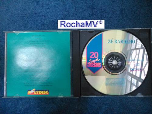 cd zé ramalho - 20 super sucessos