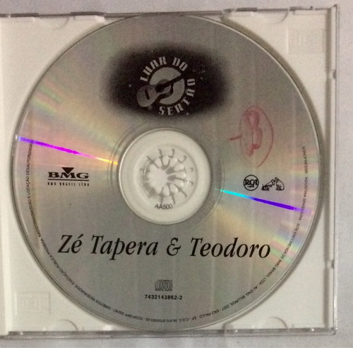 cd zé tapera e teodoro luar do sertão (jbn)
