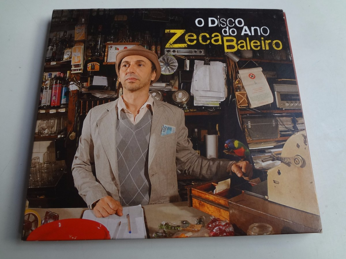 cd zeca baleiro o disco do ano