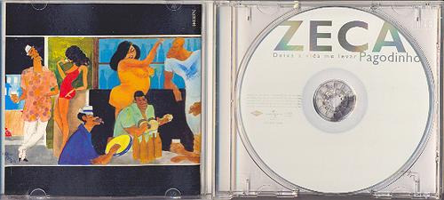cd zeca pagodinho - deixa a vida me levar - 2002