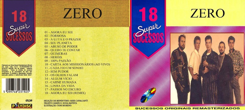 cd zero - 18 super sucessos