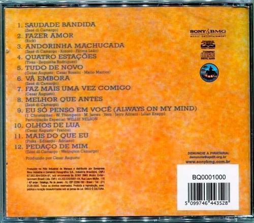cd zezé di camargo e luciano 1993 vol.3 - ( novo e lacrado)