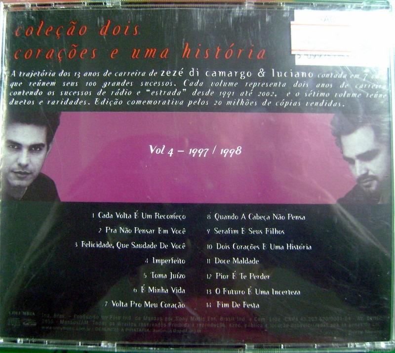 E LUCIANO ZEZE DI CAMARGO 1997 BAIXAR