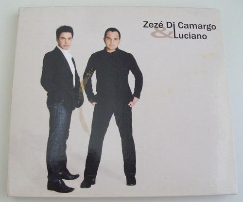 cd zezé di camargo & luciano edição de luxo com livreto foto