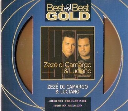 cd zeze di camargo & luciano - grandes sucessos - novo***