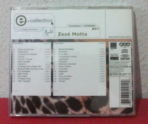 cd zezé motta - e-collection - duplo sucessos + raridades