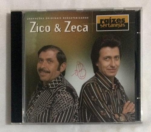 cd zico e zeca raízes sertanejas (jbn)