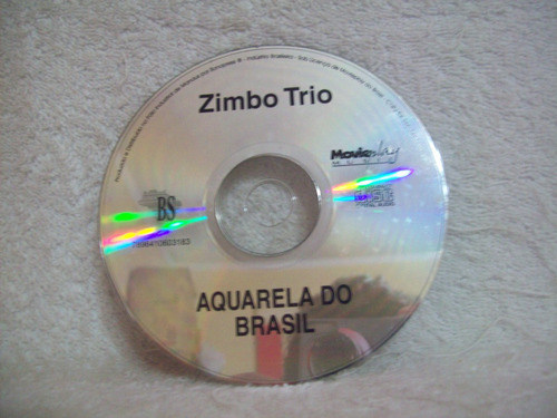 cd zimbo trio- aquarela do brasil