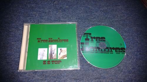 cd zz top tres hombres importado en formato cd,excelente
