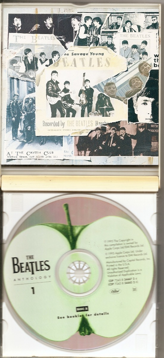 Cd(2) The Beatles - The Beatles Anthology 1